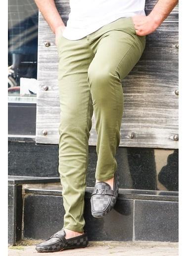 Madmext Pantolon Yeşil